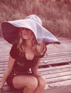 Bridget Bardot rocked the floppy hat