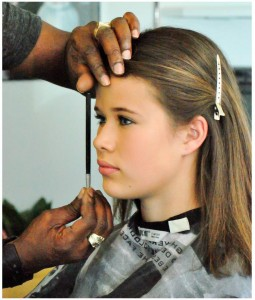 Have a holiday gala planned for this year? You can call ahead and make an appointment for Kevin to do your make-up!