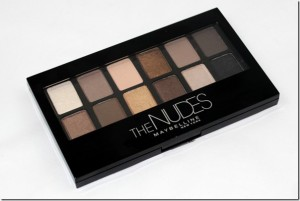"For only ten bucks, Maybelline hits a real home run with ""The Nudes"" palette!"