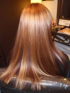There's nothing like a professional blow out! Get this look by adding Polished Hair Care Argan Oil.