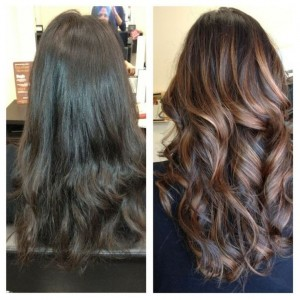 Sometime all you need is a pop of color to change your look, and Kevin is a master colorist!