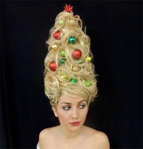 Deck the 'Do and a Happy Holidays Y'all!